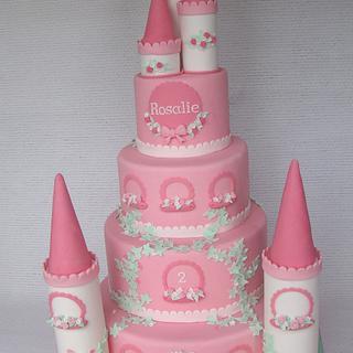 2nd birthday Castle cake