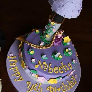 Rapunzel/Tangled Themed Birthday cake!