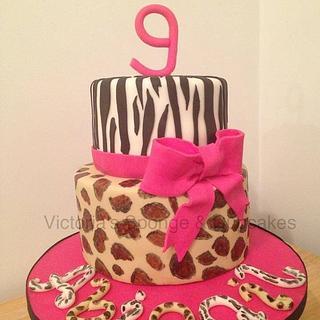 Abigail's Animal Print Cake