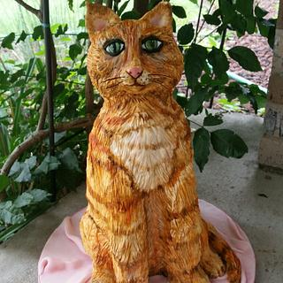 Cat cake - Cake by Patty's Cake Designs