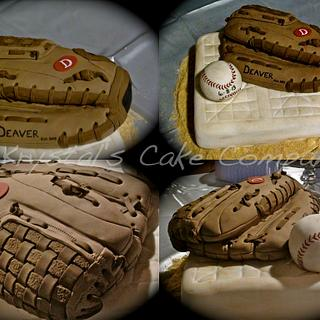 Lefty Glove Groom's cake