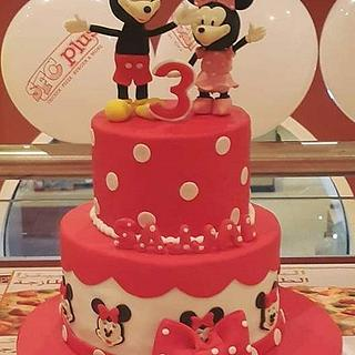 Mickey minnie cake by Occasions❤️❤️