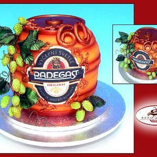 Beer keg Radegast