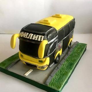 Bus cake - Cake by Ditsan