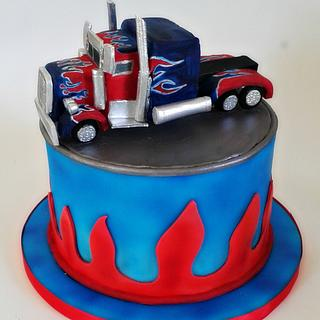 Transformers Optimus Prime Truck