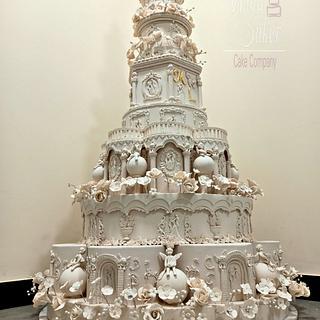 wedding cake - Cake by MunaSuker
