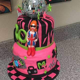 I love the 90s cake - Cake by Cakes by Crissy