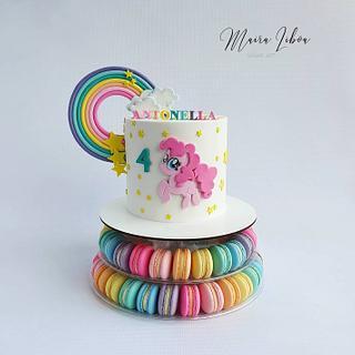 Pinky Pie - Cake by Maira Liboa