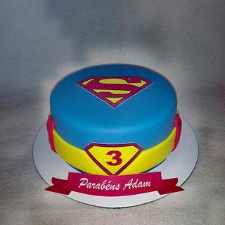 Superman Cake - Cake by Bake My Day