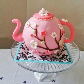 spring theme kettle