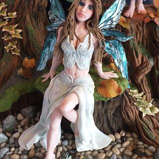 Gold Award Fairy Woodland Cake International London 2015