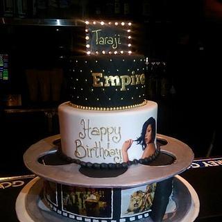 Taraji P Henson's Surprise Birthday Cake