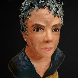 Busto Retrato - Cake by MisdulcesSisi