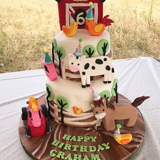 Down on the Farm!  - Cake by Ellie1985