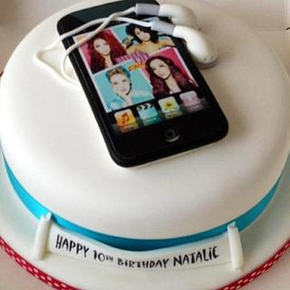 Little Mix Ipod Cake