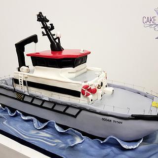 Boat cake - Cake by Cake Addict