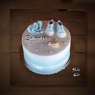 Christening cake - Cake by AndyCake