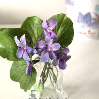 Little violets without using any cutters
