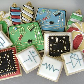 Electrical-Computer Engineer Birthday Cookie Set