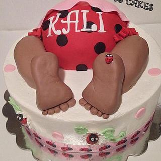Kali Baby - Cake by Stephanie