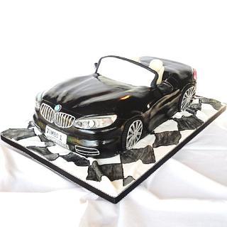 BMW Z4 Cake