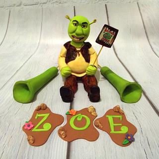 Shrek Topper Set