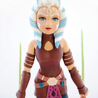 Ahsoka Tano -  Star Wars : The Bakers Strike Back! Collaboration