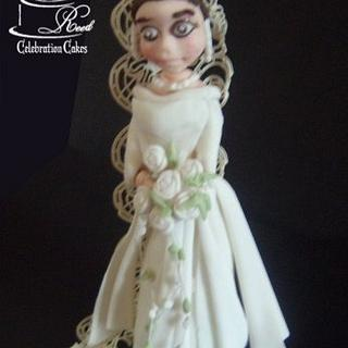 Mary, Crown Princess of Denmark - CPC Royal Wedding Dresses Collaboration - Cake by Julie Reed Cakes