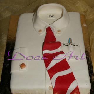 Shirt cake - Cake by Magda Martins - Doce Art