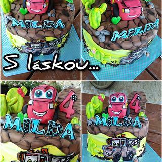 Cars - Cake by Dorisima