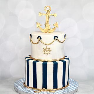 Nautical cake - Cake by soods