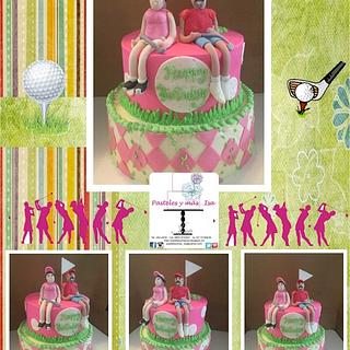 GOLF CAKE - Cake by Pastelesymás Isa