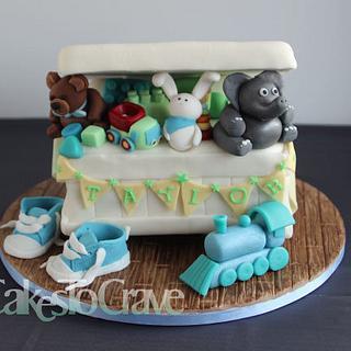 Toy Box Birthday Cake
