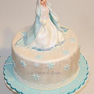 The Snow Queen cake