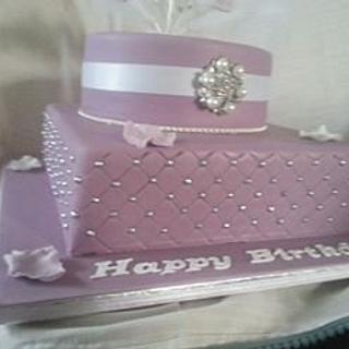 21st Birthday  - Cake by Carole's Cakes