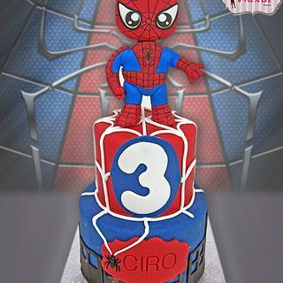 Spiderman Funko Pop cake