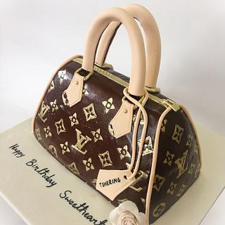 LV Bag - Cake by Homebaker
