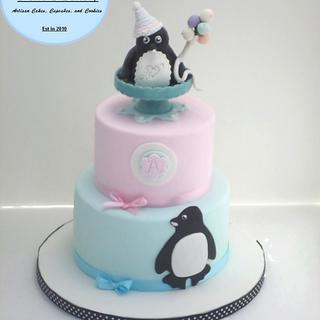 Pretty Little Penguin - Cake by CakeLuv