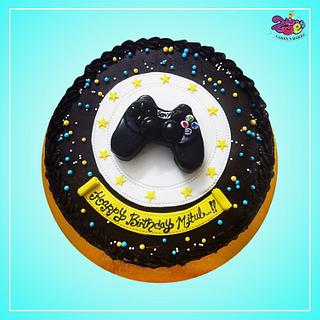 Play station Remote - Cake by Ankita Singhal