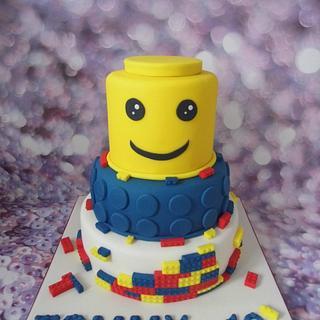 Lego cake.
