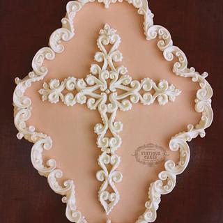 Vintage Baroque Cookie