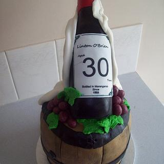 Wine lover cake - Cake by Amy