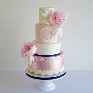 Romantic peonies - Cake by Studio53