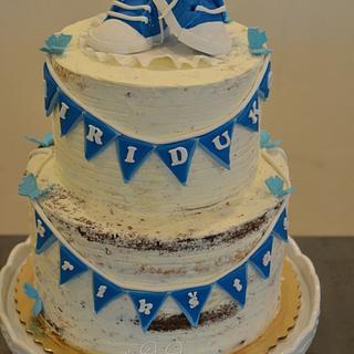 babtism cake