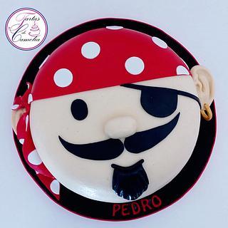 TARTA CARITA PIRATA - Cake by Camelia