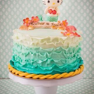 Hello Kitty Mermaid Cake