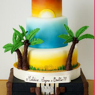Tropical Mood Cake - Cake by  Viviana Pellegrino