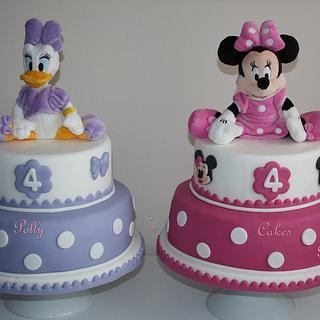 Daisy Duck & Minnie Cakes