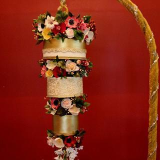 Chandelier cake - Cake by Sweet Symphony