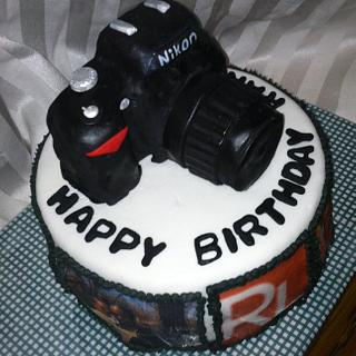 Photographer's Cake - Cake by Cathy